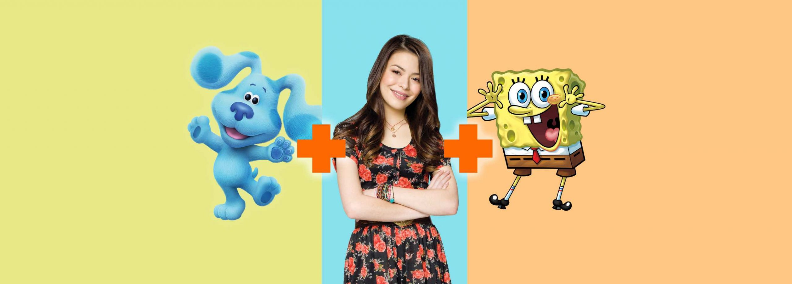 Nick Plus Featuring Blues Clues, I Carly and Spongebob
